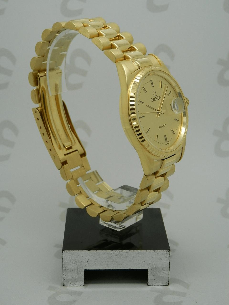 Omega Classic Oro Cuarzo
